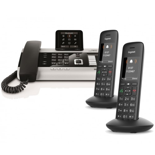 Siemens Gigaset DX800A Trio with C570H IP DECT Phone