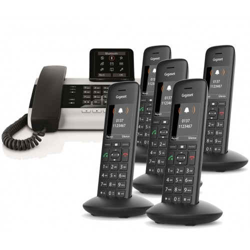 Siemens Gigaset DX800A Sextet with C570H IP DECT Phone