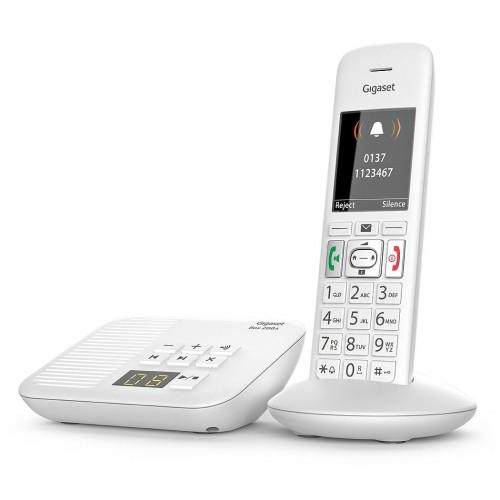 Siemens Gigaset Premium E370A Cordless Phone, Single Handset with Big Buttons