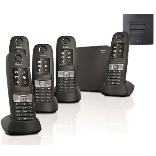 Siemens Gigaset E630A Quint Cordless Phones with Long Range