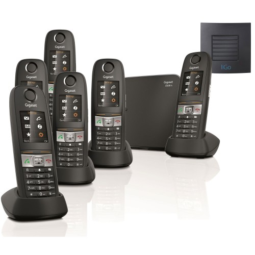Siemens Gigaset E630A Sextet Cordless Phones with Long Range