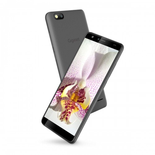"""Gigaset GS100 Smartphone in Graphite Grey with 5.5"""" HD Screen & Dual SIM"""