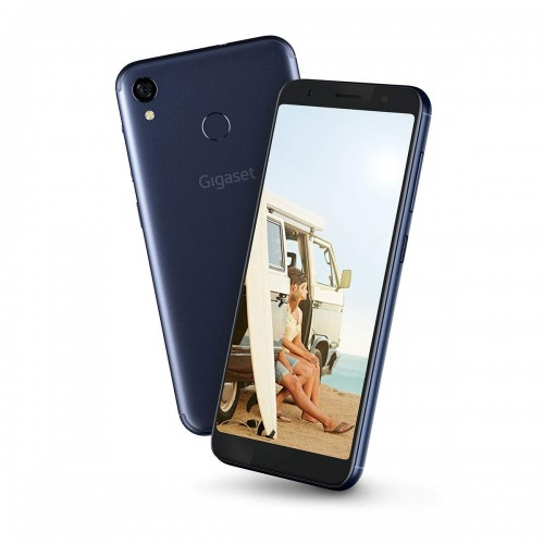 """Gigaset GS185 Smartphone in Midnight Blue with 5.5"""" HD Screen & Dual SIM"""