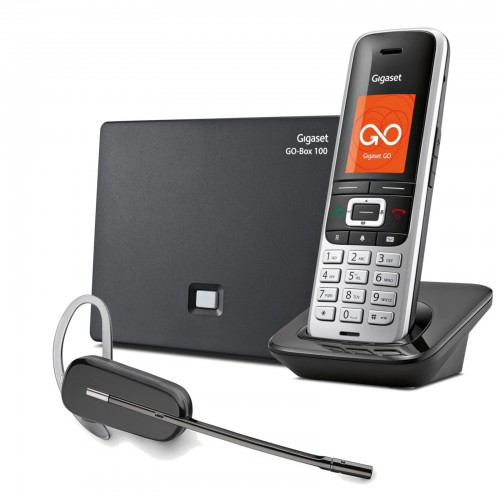 Siemens Gigaset S850A GO VoIP Cordless Phone with Wireless Headset