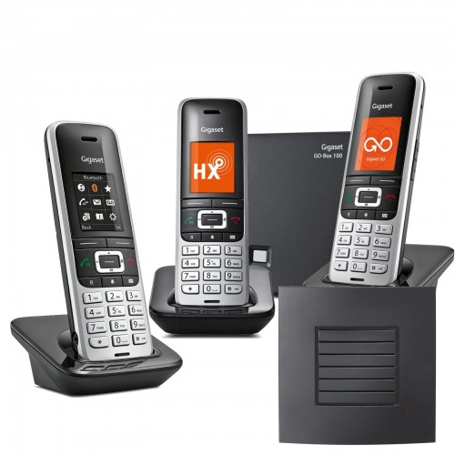 Siemens Gigaset S850A GO Trio VoIP Cordless Phone with Long Range