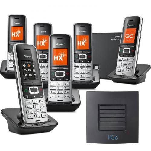 Siemens Gigaset S850A GO Sextet VoIP Cordless Phone with Long Range