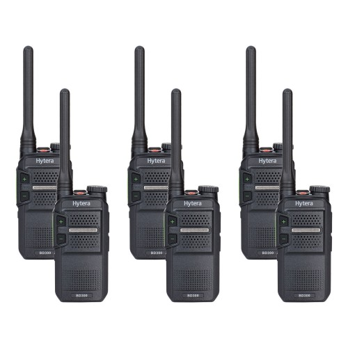 Hytera BD305LF Six Pack License-Free Two Way Radios