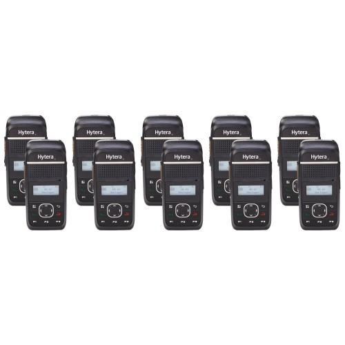 Hytera PD355LF Ten Pack License-Free Two Way Radios