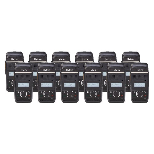 Hytera PD355LF Twelve Pack License-Free Two Way Radios