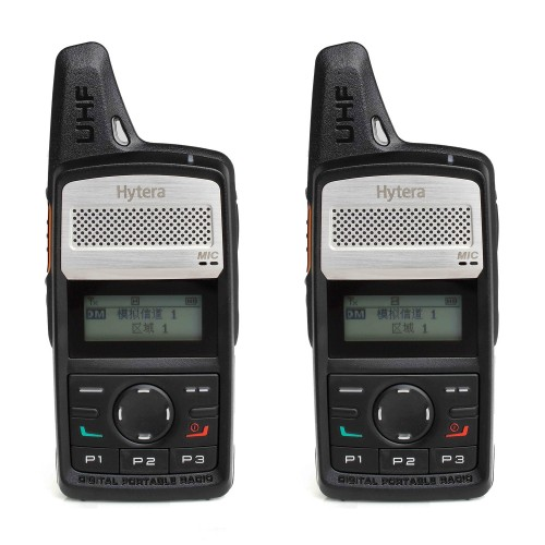 Hytera PD365LF Twin Pack License-Free Two Way Radio