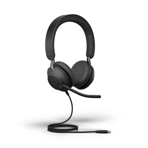Jabra Evolve2 40 Stereo USB-C MS Corded Headset