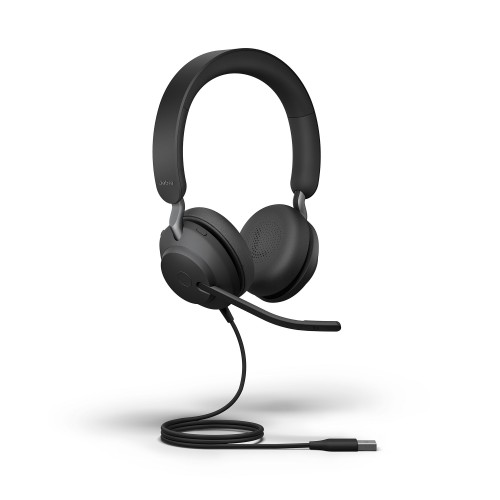 Jabra Evolve2 40 Stereo USB-A UC Corded Headset
