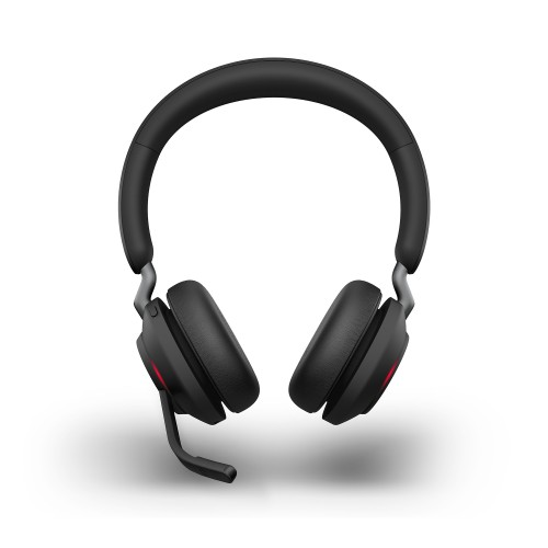 Jabra Evolve2 65 USB-A MS Stereo Wireless Headset in Black with Jabra Link380