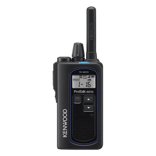 Kenwood TK-3601DE Digital & Analogue Two-Way Radio, Single Handset