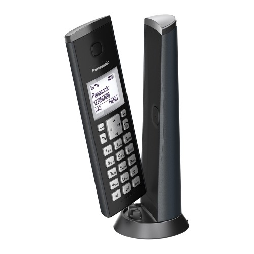 Panasonic KX-TGK220EM Designer Cordless Phone, Single Handset with Answer Machine