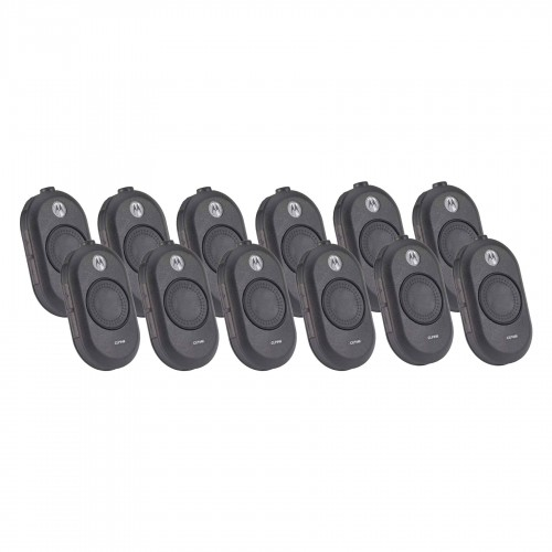 Motorola CLP446 Twelve Pack License-Free Two-Way Radios with Charger