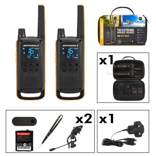 Motorola TALKABOUT T82 Extreme Two-Way Radios