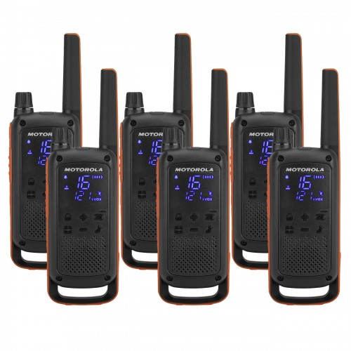 Motorola TALKABOUT T82 Six Pack Two-Way Radios