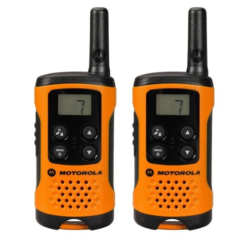 Motorola TLKR T41 Twin Pack Two-Way Radios in Orange