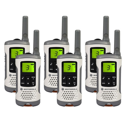 Motorola TLKR T50 Six Pack License-free Two Way Radios