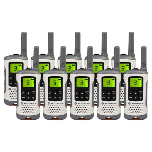Motorola TLKR T50 Ten Pack License-free Two Way Radios