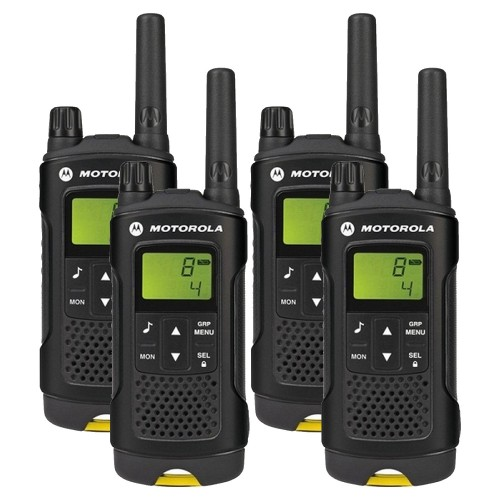 Motorola XT180 Quad Pack License-free Two Way Radio