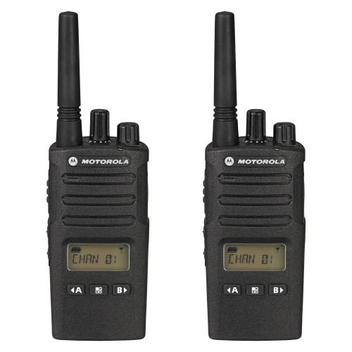 Motorola XT460 Twin Pack Two-Way Radios with Charger
