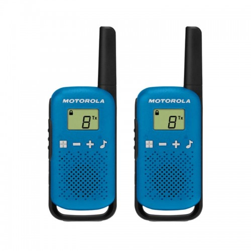 Motorola TALKABOUT T42 Twin Pack Two-Way Radios in Blue