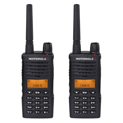Motorola XT660 Twin Pack Digital Two Way Radio with Charger