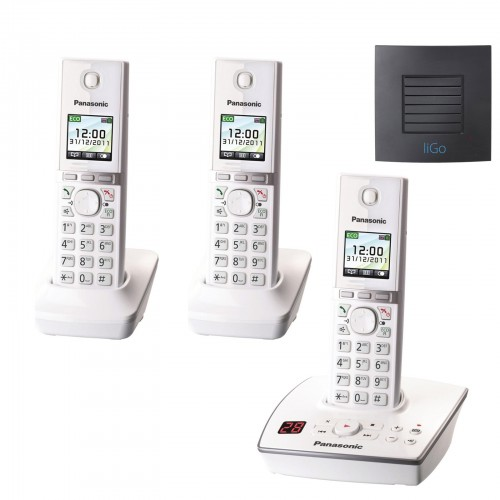 Panasonic KX-TG8063 EW Trio with Long Range