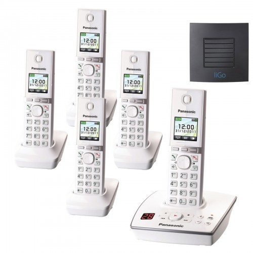 Panasonic KX-TG8065EW Quint with Long Range