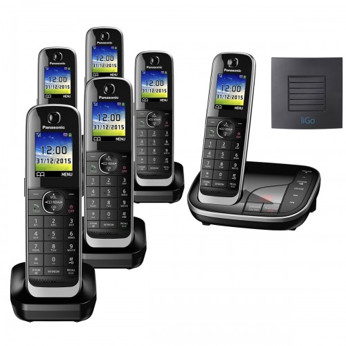 Panasonic KX-TGJ326EB Sextet Long Range Cordless Phone