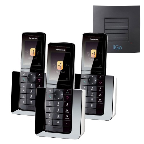 Panasonic KX-PRS120EW Trio Cordless Phones with Long Range
