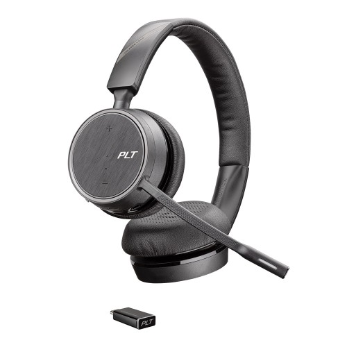 Plantronics Voyager 4220 Stereo Bluetooth Headset with USB-C Dongle