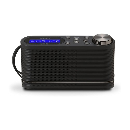 Roberts Play 10 Portable DAB & FM Radio in Black