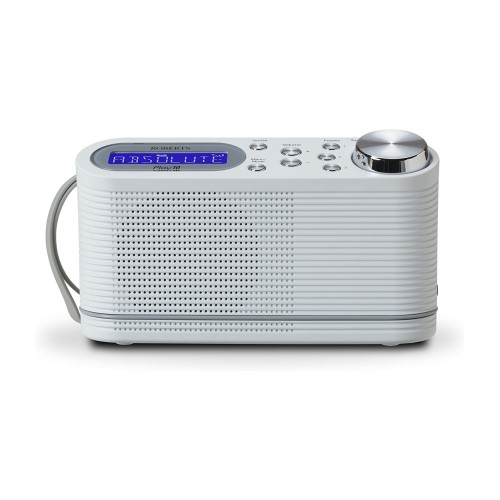 Roberts Play 10 Portable DAB & FM Radio in White
