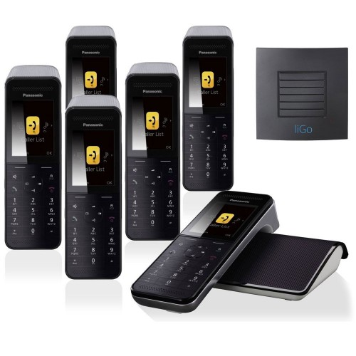 Panasonic KX-PRW 120 Sextet Premium Cordless Phone with Long Range