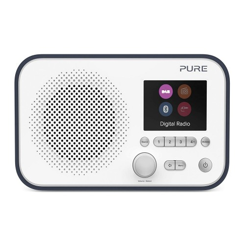 Pure Elan BT3 Portable DAB Radio with Bluetooth in Slate Blue