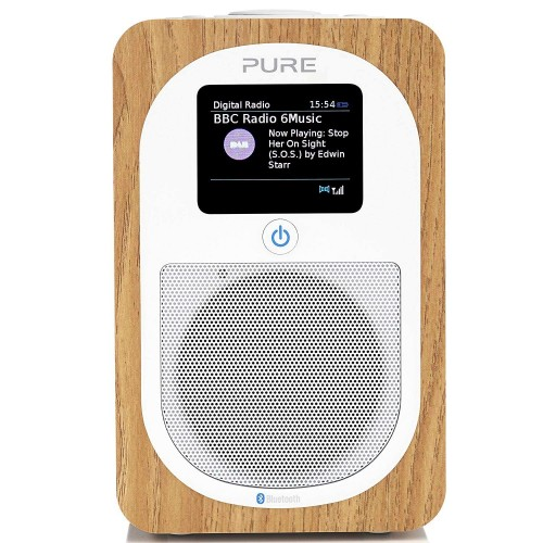Pure Evoke H3 Digital DAB and FM Radio in Oak