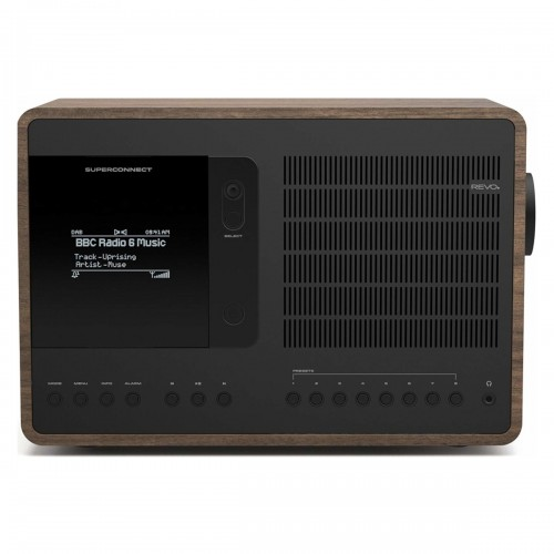 Revo SuperConnect DAB, FM & Internet Radio with Spotify and Bluetooth in Walnut/Black