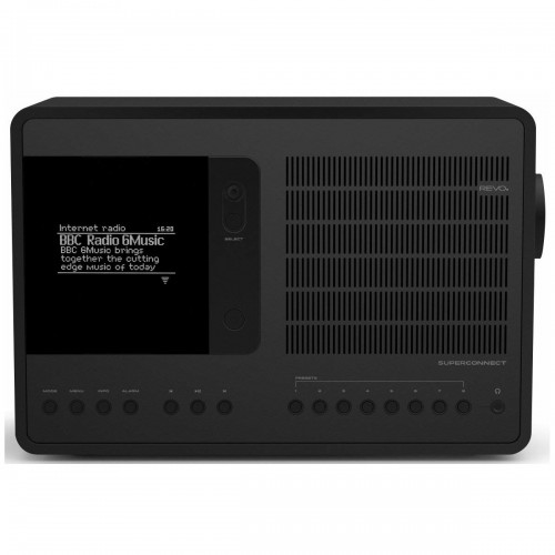 Revo SuperConnect Shadow Edition DAB, FM & Internet Radio with Spotify and Bluetooth