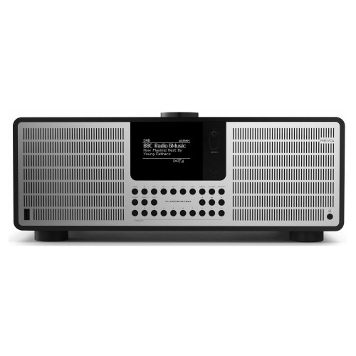 Revo SuperSystem DAB, FM & Internet Radio with Spotify and Bluetooth in Matt Black/Silver