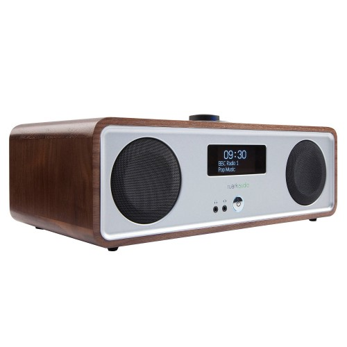 Ruark R2 MK3 DAB Radio with Wi-Fi and Bluetooth in Walnut