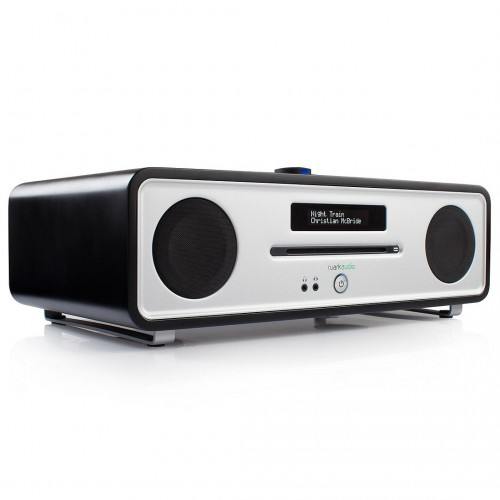 Ruark R4 MK3 DAB Radio with CD & Bluetooth, Black