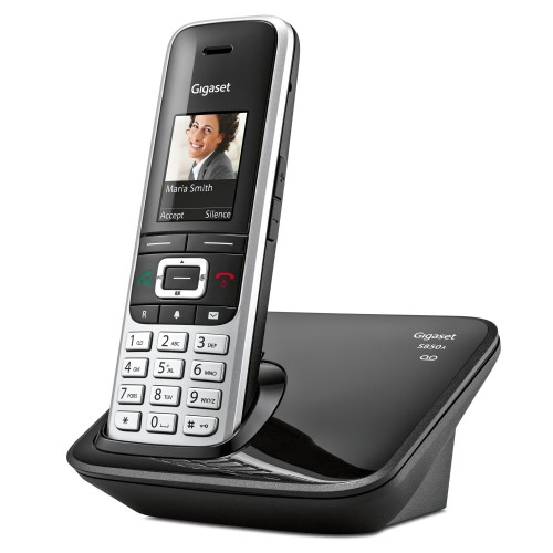 Siemens Gigaset Premium S850A Cordless Phone, Single Handset with Answer Machine