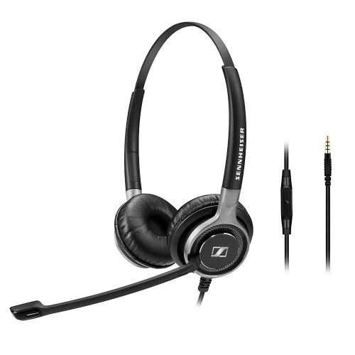 Sennheiser SC 665 3.5mm Stereo Corded Headset