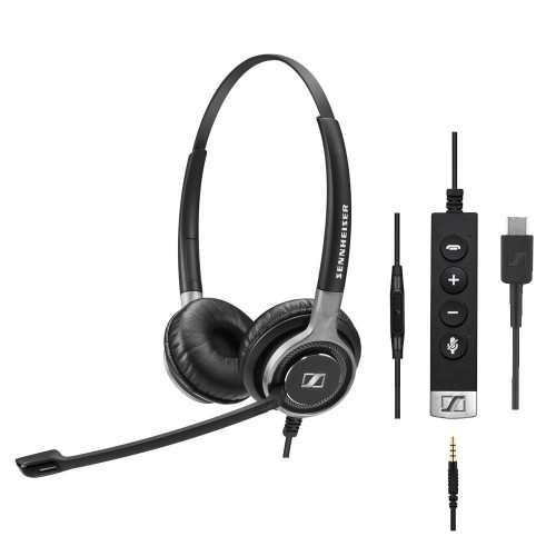 Sennheiser SC 665 USB-C & 3.5mm Stereo Corded Headset