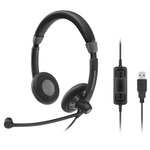 Sennheiser SC 70 USB-A MS Corded Headset for PC