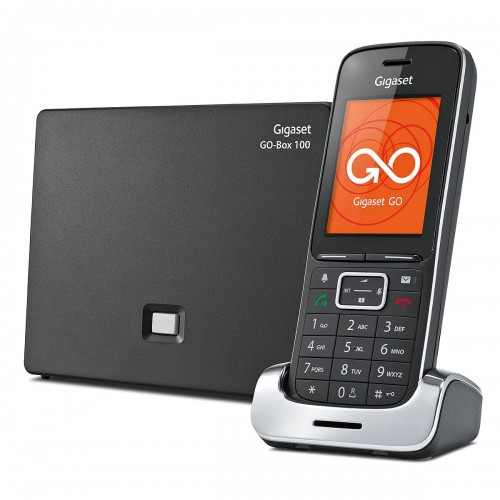 Siemens Gigaset SL450A GO Cordless Phone - Black Edition, Single Handset