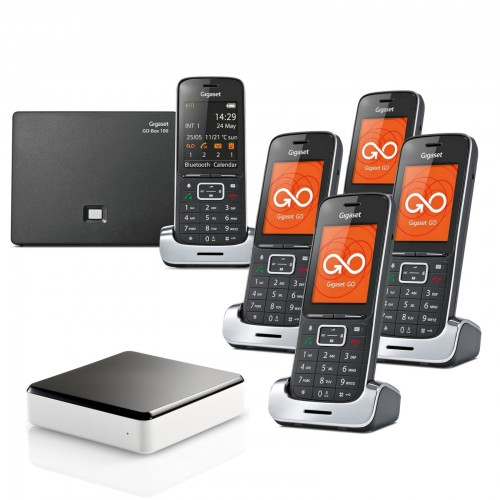 Siemens Gigaset SL450A GO Quint Cordless Phones with Link-to-Mobile